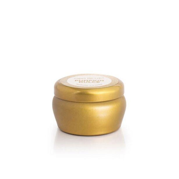 Capri Blue Pumpkin Dulce Glam Mini Tin Jar Cand… deals at $10