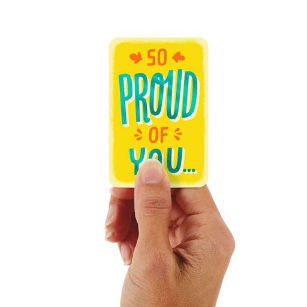 """3.25"""" Mini Always Proud of You Card deals at $1.99"""