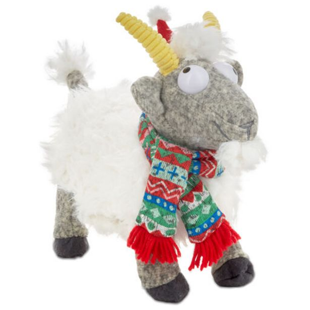Tis The Screamin' Goat Singing Stuffed Animal W… deals at $34.99
