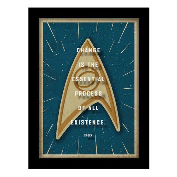 Star Trek™ Spock Framed Quote Sign, 6x8 deals at $19.99