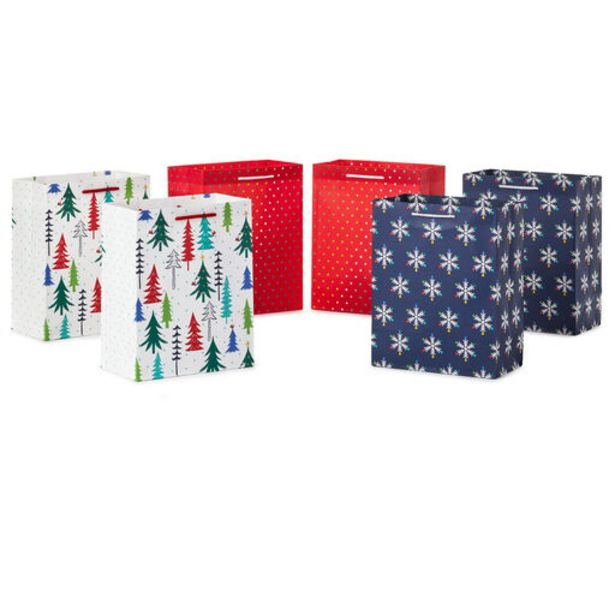 """9.6"""" Bright and Merry 6-Pack Medium Christmas G… deals at $9.99"""