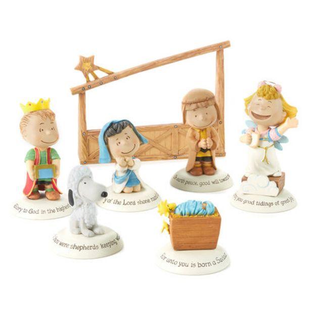 Glad Tidings Peanuts® Nativity Set deals at $49.95