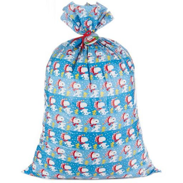 """56"""" Peanuts® Giant Plastic Gift Bag With Tag an… deals at $5.49"""