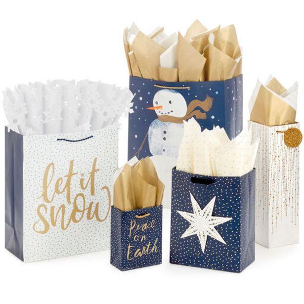 Modern Elegance Holiday Gift Bag Collection deals at $1.99
