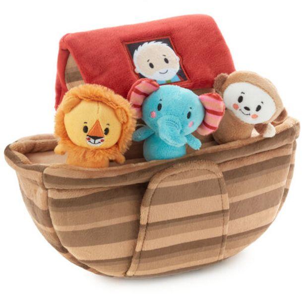 Noah's Ark and Animals Plush Playset, 7 Pieces deals at $34.99