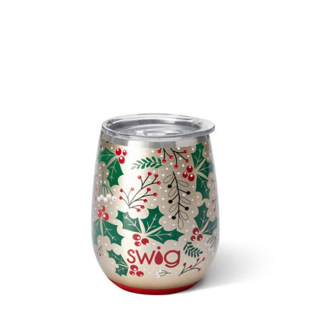 Swig Hollydays Stainless Steel Stemless Wine Gl… deals at $29.99