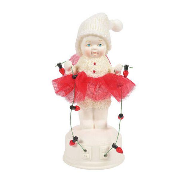 Snowbabies Testing the Lights Snowman Figurine,… deals at $27.99