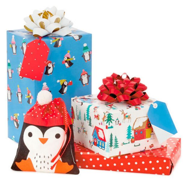 Family Fun Christmas Gift Wrap Collection deals at $1.99