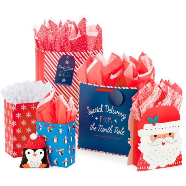 Family Fun Christmas Gift Bag Collection deals at $1.99