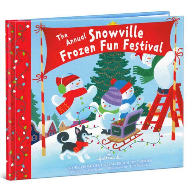 The Annual Snowville Frozen Fun Festival Book deals at $5.99