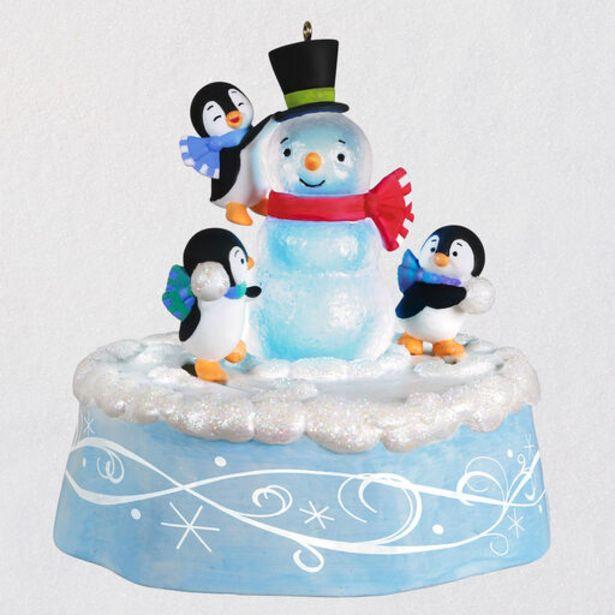 Playful Penguins Musical Ornament With Light an… deals at $39.99