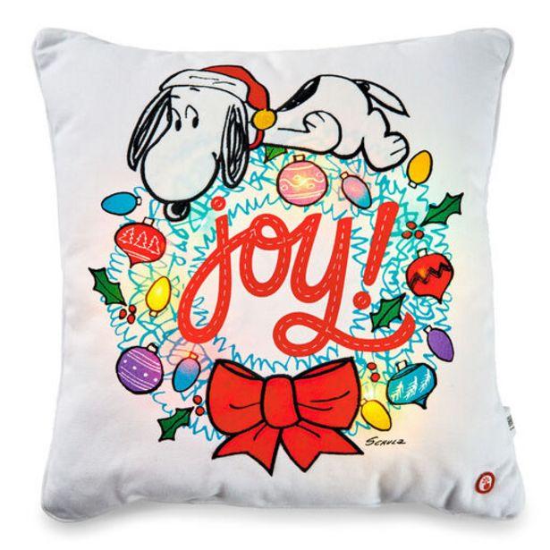 Peanuts® Snoopy Joy Wreath Light-Up Throw Pillo… deals at $39.99