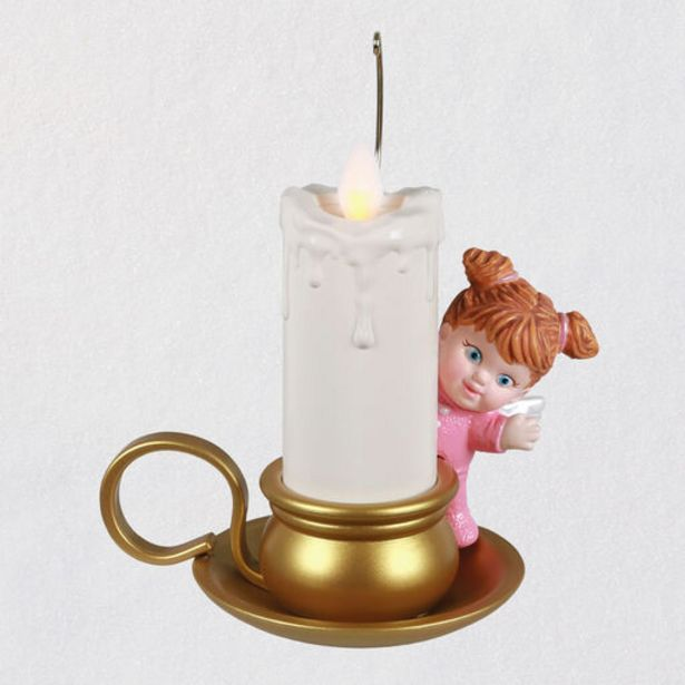 Angelic Candlelight Ornament With Light and Mot… deals at $24.99