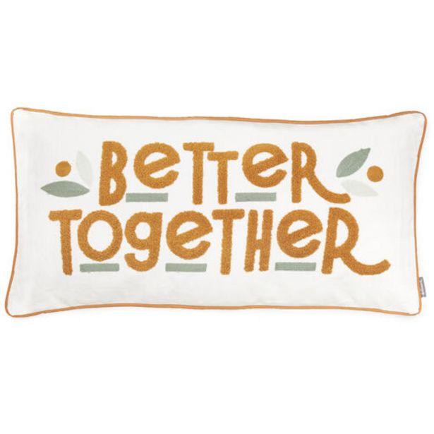 Better Together Lumbar Throw Pillow, 24x12 deals at $29.99