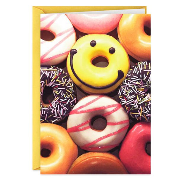 Smiley Face Donut Funny Birthday Card deals at $3.69