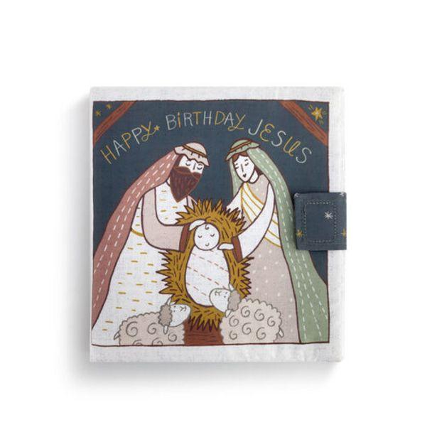Demdaco Happy Birthday Jesus Cloth Book deals at $17.5