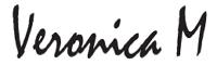 Logo Veronica M