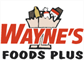 Logo Wayne's Food Plus