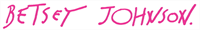 Logo Betsey Johnson