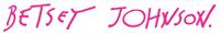 Logo Betsey Johnson
